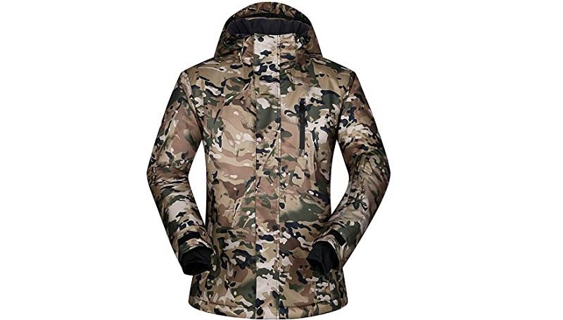 ELETOP Mountain Rain Jacket