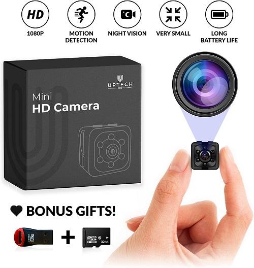Supoggy Mini Wireless Hidden Camera
