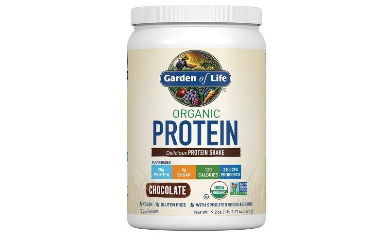 Garden of Life Organic Whey Protein Powder