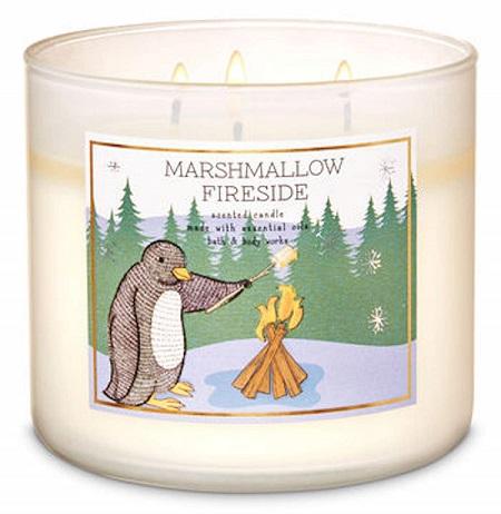 Marshmallow Fireside Bath & Body Works Candle