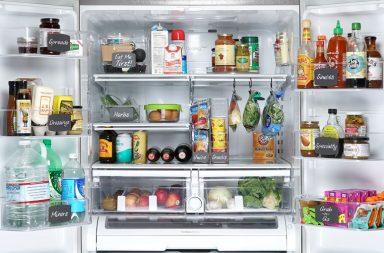 حفظ الأطعمة داخل الثلاجة