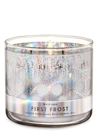 First Frost 3-Wick Candle