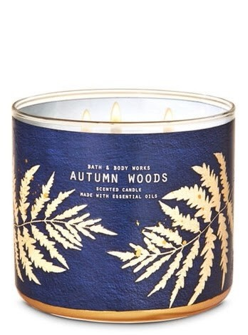 Autumn Woods Bath & Body Works Candle